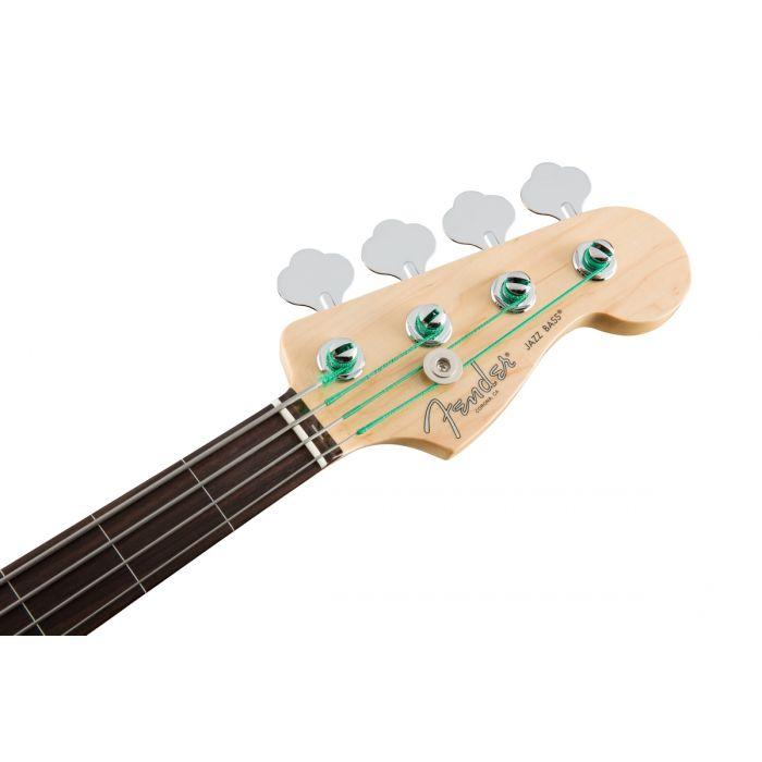 Fender American Professional Jazz Bass Fretless RW, Black Headstock