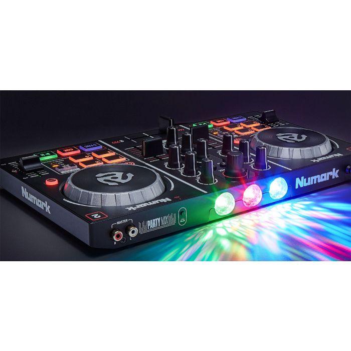 Numark Party Mix DJ Controller Rear