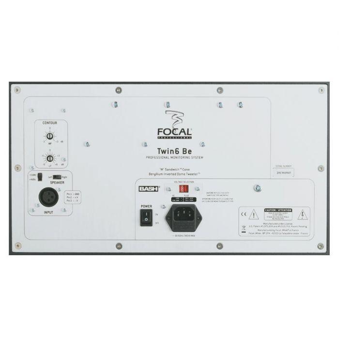 Focal Twin 6 BE Studio Monitor (Single) Rear