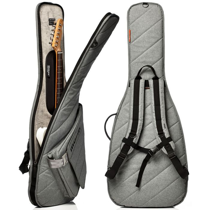 Mono M80-SEG-ASH Electric Guitar Sleeve in Ash Open and Back