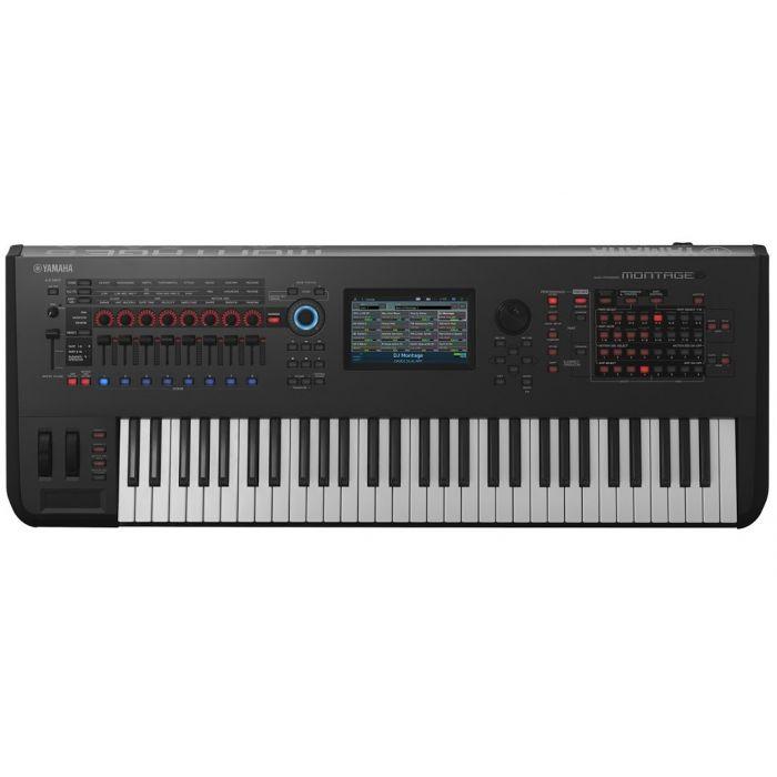 Yamaha Montage 6 Synthesizer 61 Key