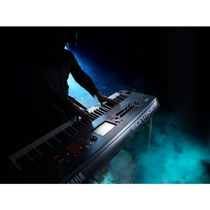 Yamaha Montage 6 Synthesizer 61 Key Live