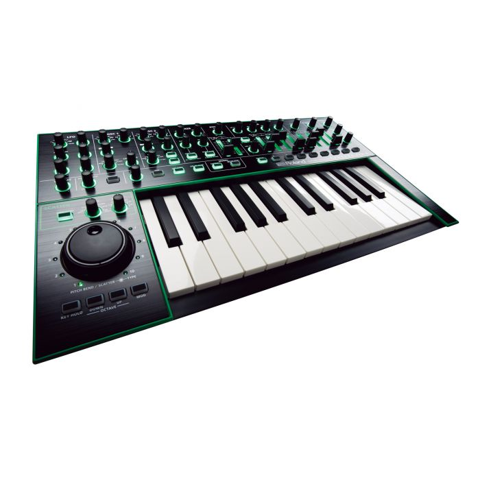 Roland Aira System 1 Plug-Out Synthesizer Angle
