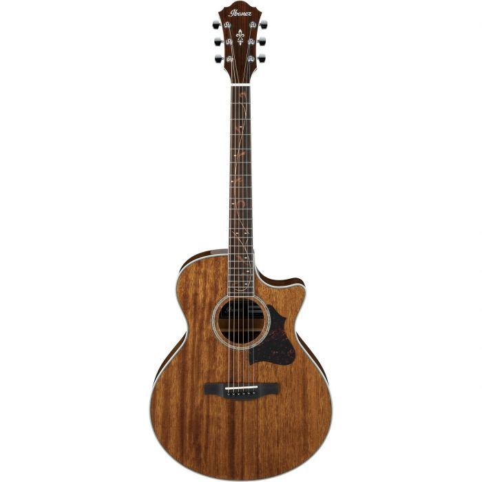 Ibanez 2017 AE245-NT AE Electro Acoustic Guitar, Natural High Gloss