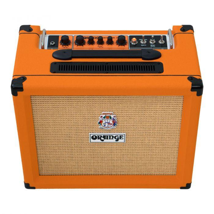 Orange Rocker 15 1x10 Valve Amp Top Angle