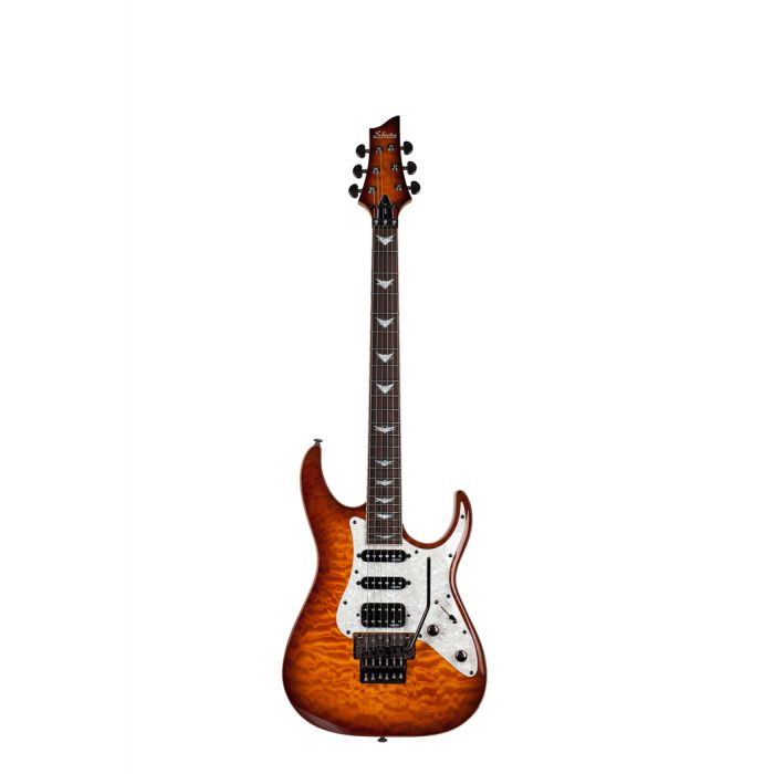 Schecter Banshee-6 FR Extreme with Floyd Rose in Vintage Sunburst
