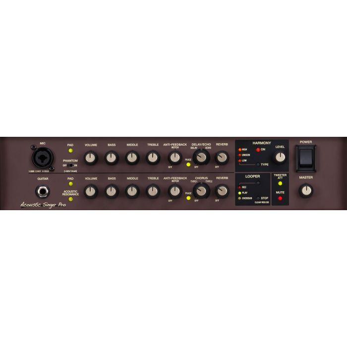 Boss Acoustic Singer Pro Acoustic Amplifier Panel