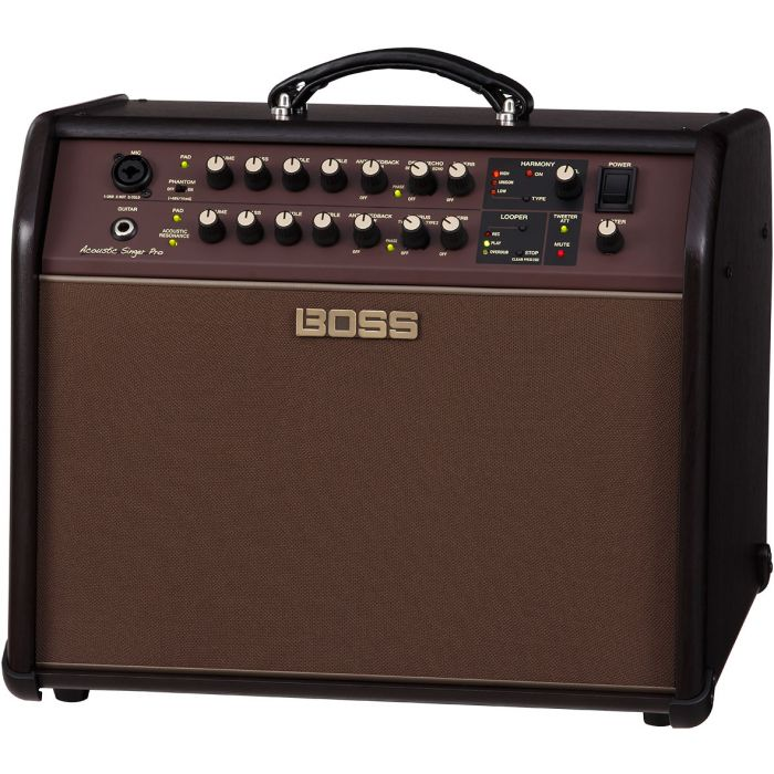 Boss Acoustic Singer Pro Acoustic Amplifier Angle