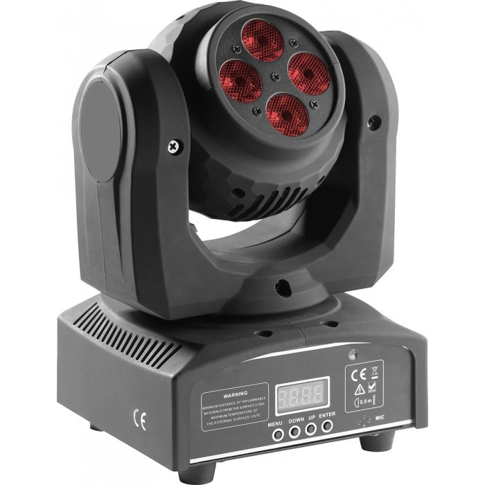 Stagg RGBW LED HeadBanger Spin Moving Head Light
