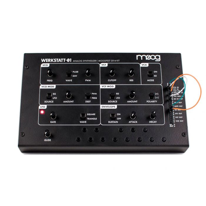 Moog Werkstatt-01 Analogue Synthesizer