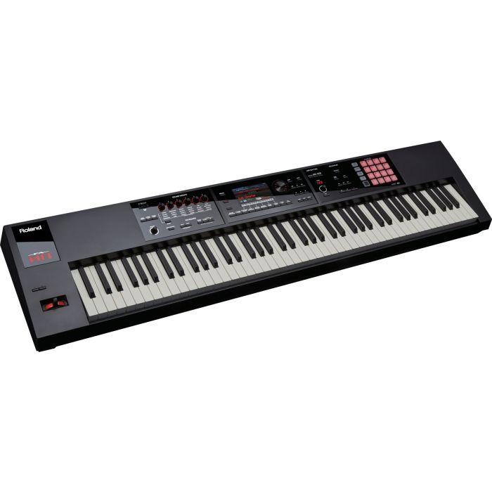 Roland Fantom FA-08 Music Synthesizer Workstation Angle