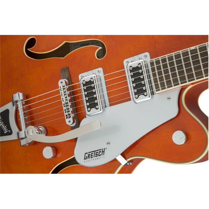 Gretsch G5420T 2016 Electromatic Hollow Body with Bigsby, Orange Stain Filter'Tron Pickups