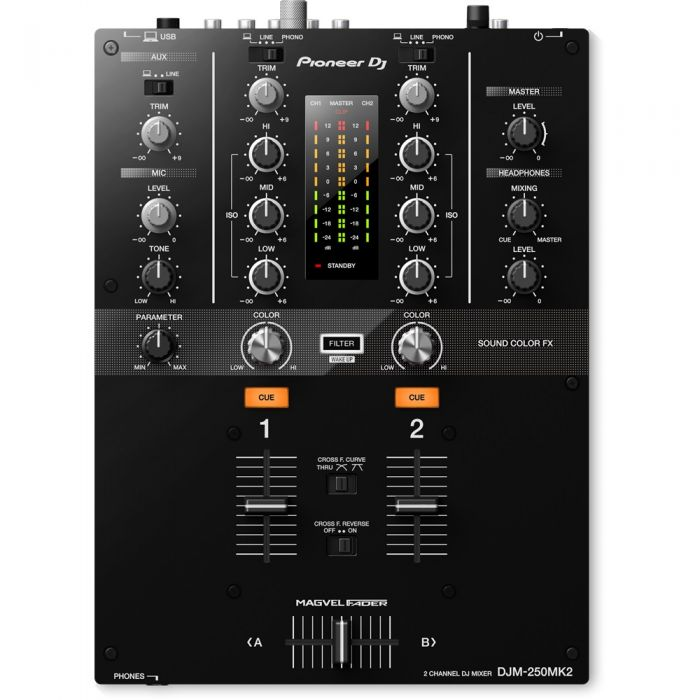 Pioneer DJ DJM-250MK2 2-Channel Mixer