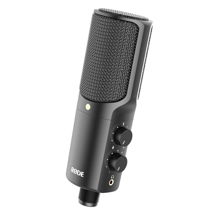 Rode NT-USB microphone angle front view