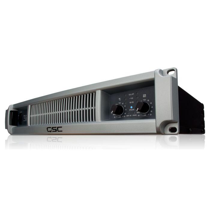 QSC PLX3102 PA Amplifier Front Left