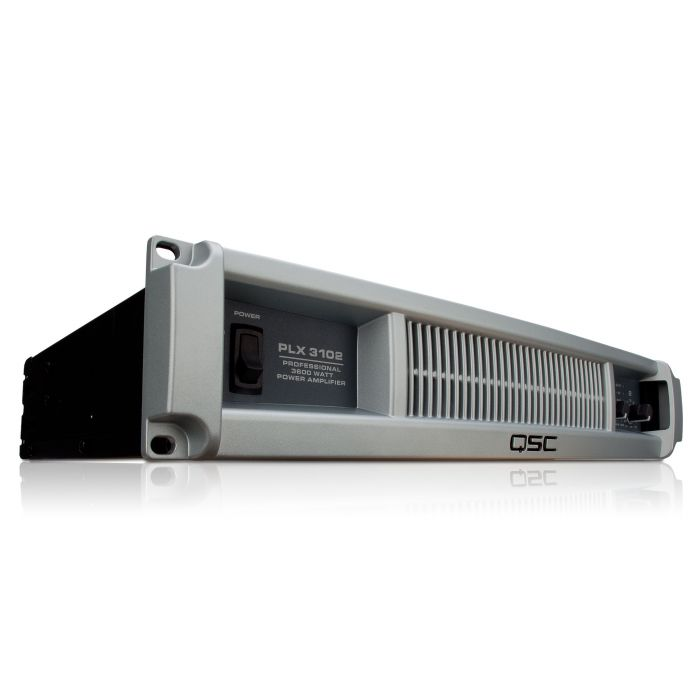 QSC PLX3102 PA Amplifier Front Right