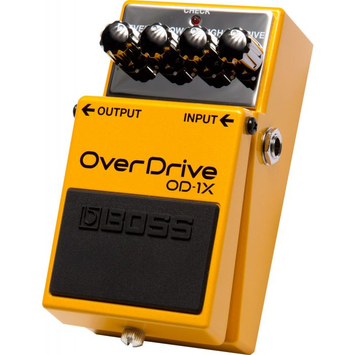 Boss OD-1X Overdrive Compact Guitar Pedal Right Angle