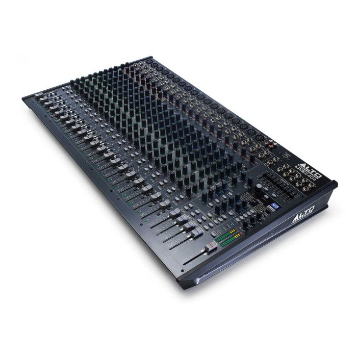 Alto Live 2404 24 Channel USB Mixing Desk Angle