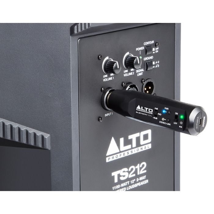 Alto Professional Bluetooth Total Bluetooth Receiver Speaker Connection