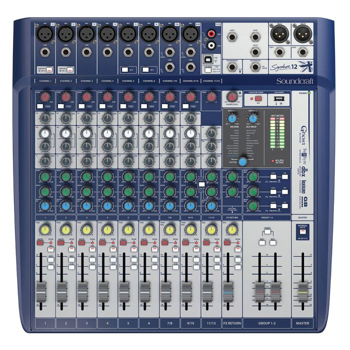 Soundcraft Signature 12 Analogue Mixer