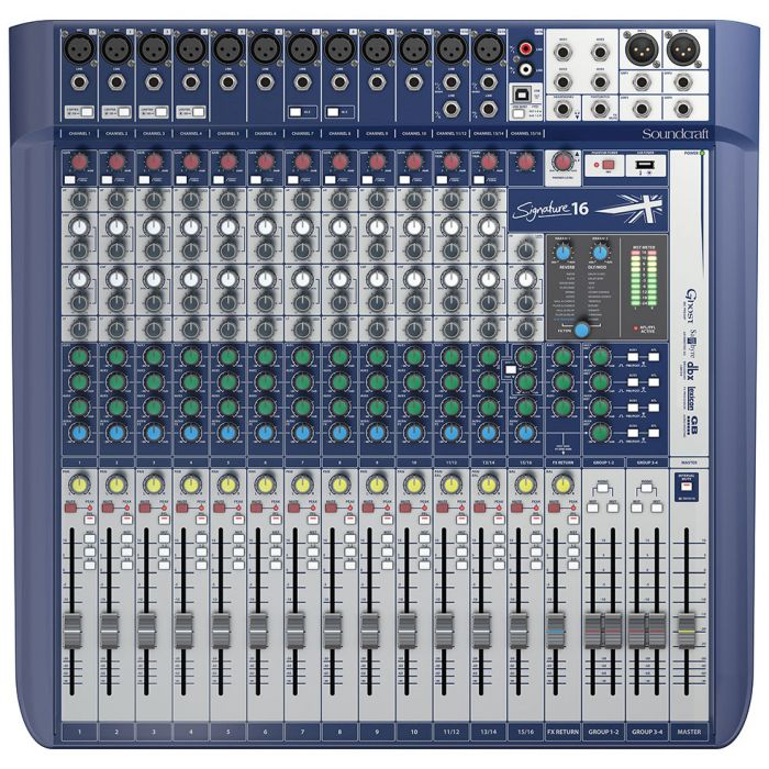 Soundcraft Signature 16 Analogue Mixer
