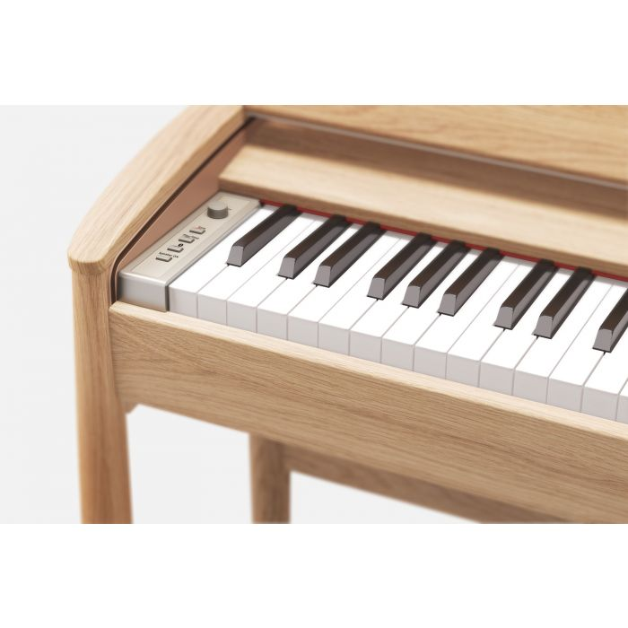 Roland Kiyola KF-10 Digital Piano with Stool Pure Oak Keys