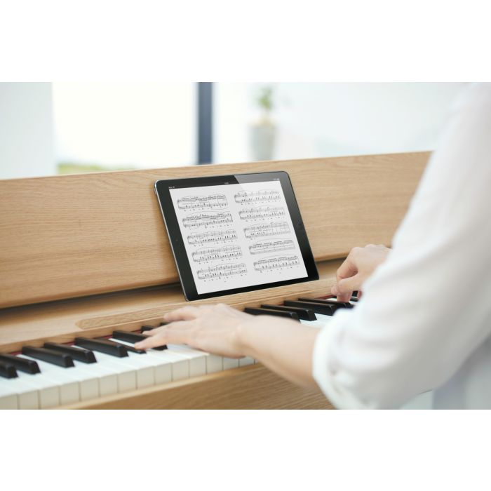 Roland Kiyola KF-10 Digital Piano with Stool Pure Oak App