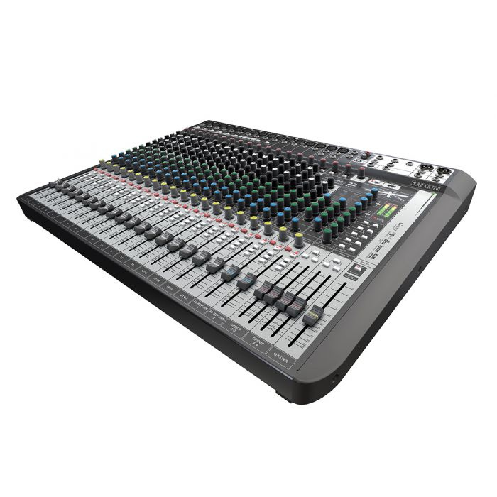 Soundcraft Signature 22MTK USB Interface Mixer Angle
