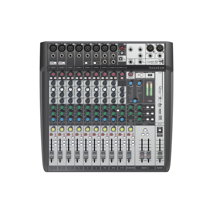 Soundcraft Signature 12MTK USB Interface Mixer