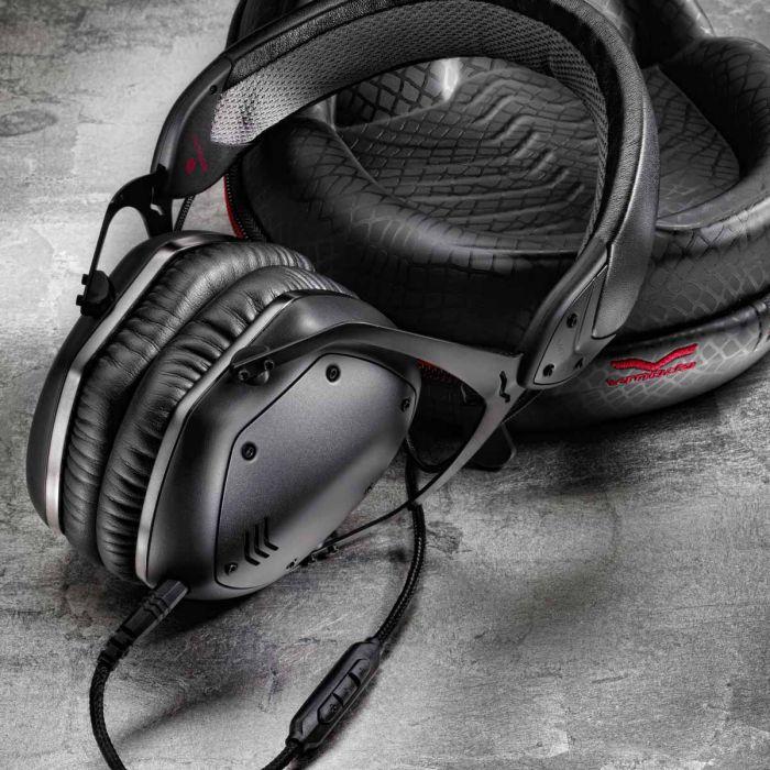 V-MODA Crossfade LP2 Headphones - Matte Black Marble Floor