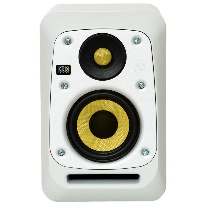 KRK Series 4 V4 Active Studio Monitor White Noise