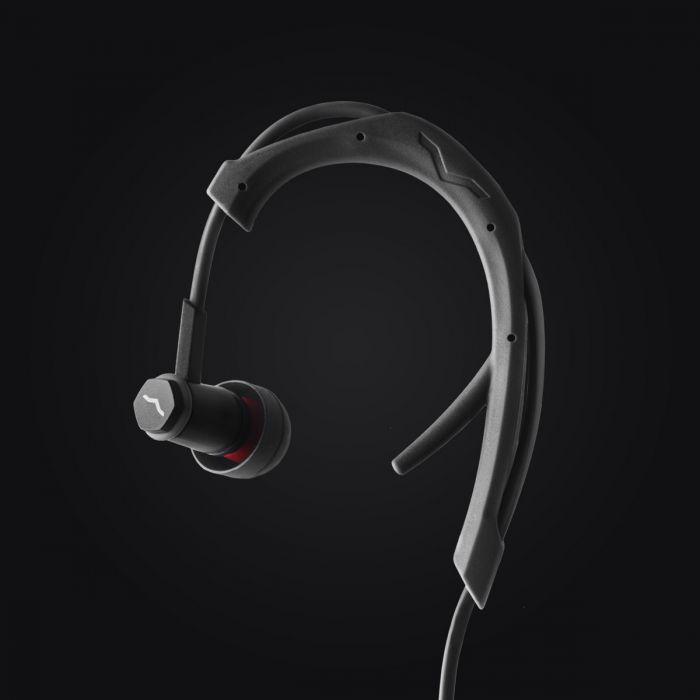 V-MODA Forza In-Ear Sports Headphones - Black with ActiveFlex Technology