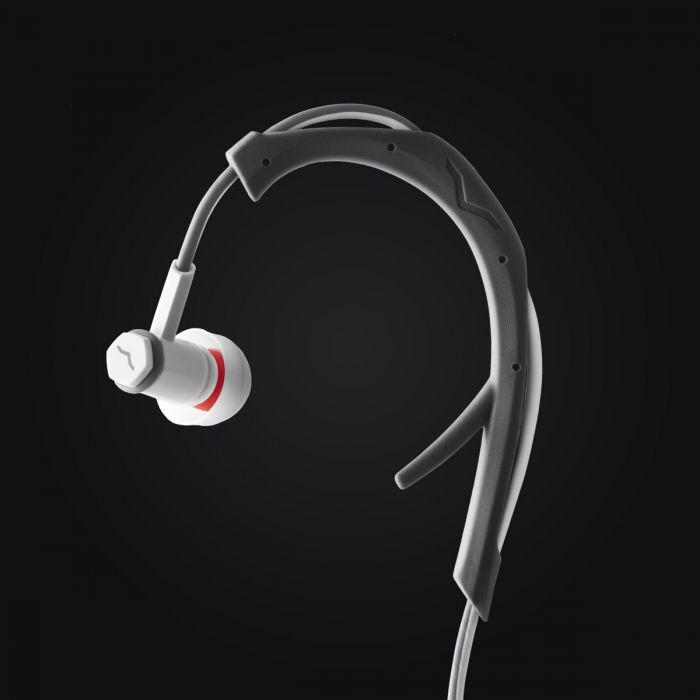 V-MODA Forza In-Ear Sports Headphones - White Earhook