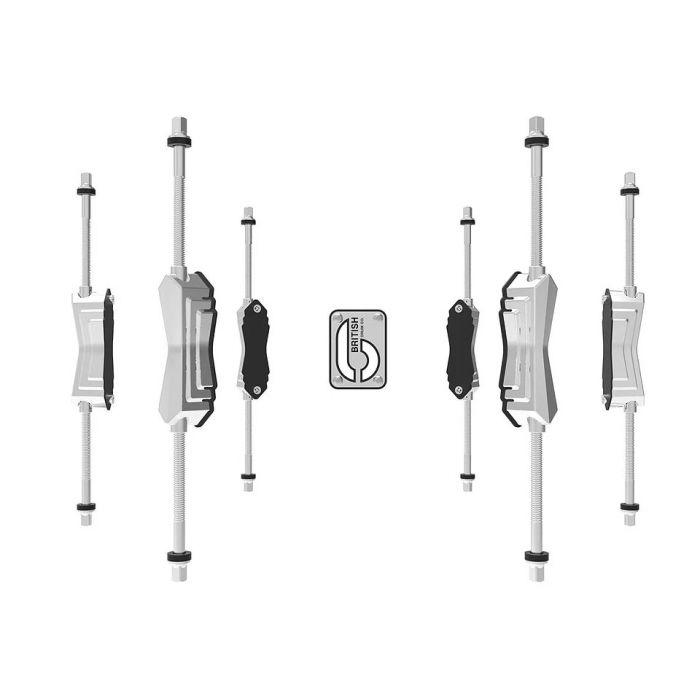 British Drum Co. 14 x 5.5 Merlin Snare Drum Hardware