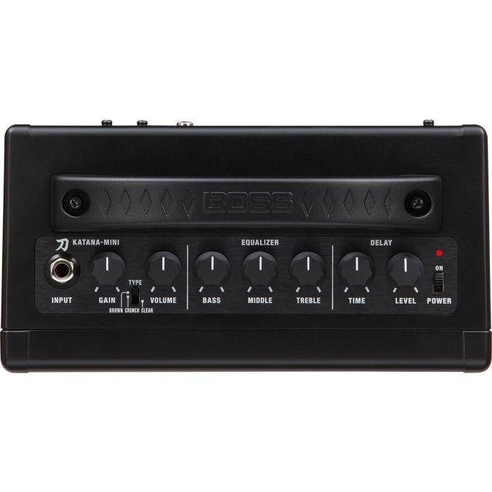 BOSS Katana-Mini Guitar Amplifier Top