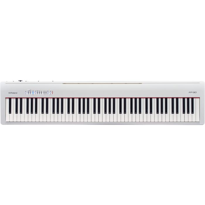 Roland FP-30 Digital Piano in White