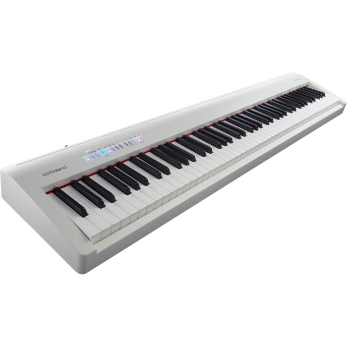 Roland FP-30 Digital Piano in White Angle