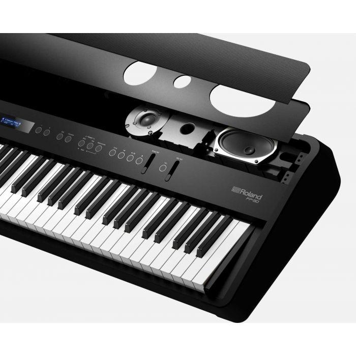 Roland FP-90 Digital Piano in Black Speakers