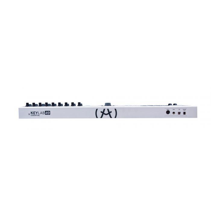 Arturia Keylab Essential 49 MIDI Keyboard Rear