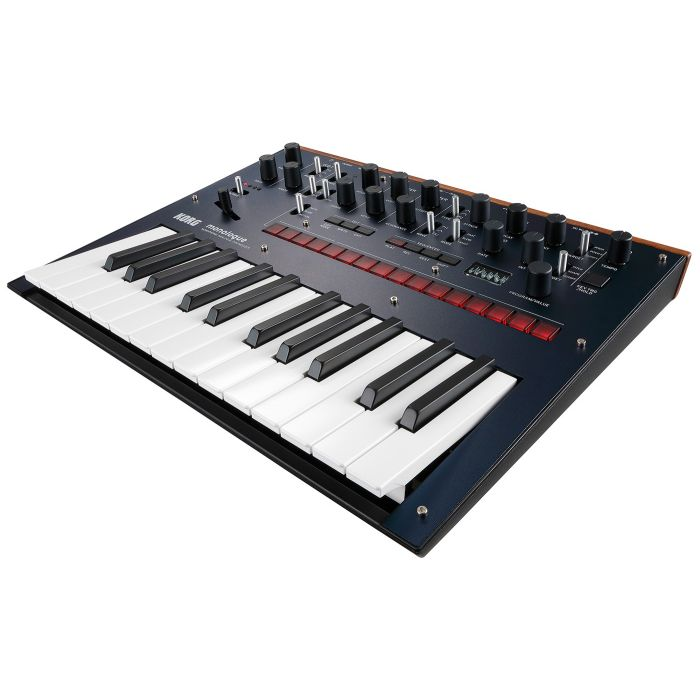 Korg Monologue Analogue Synthesizer in Blue Angle