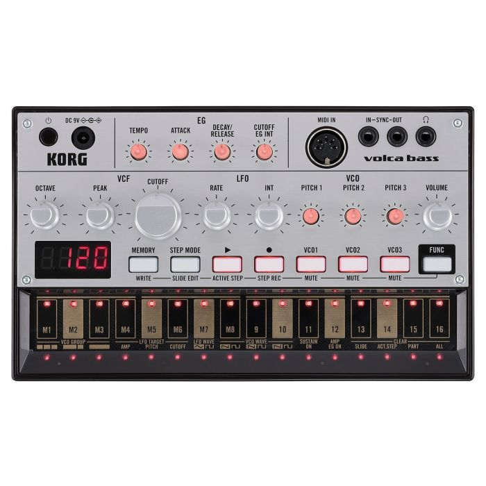 Korg Volca Bass Analog Bass Synthesizer