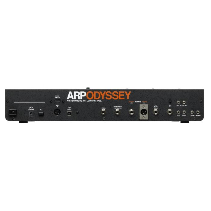 Korg ARP Odyssey Module Rev3 Analogue Synthesizer Rear