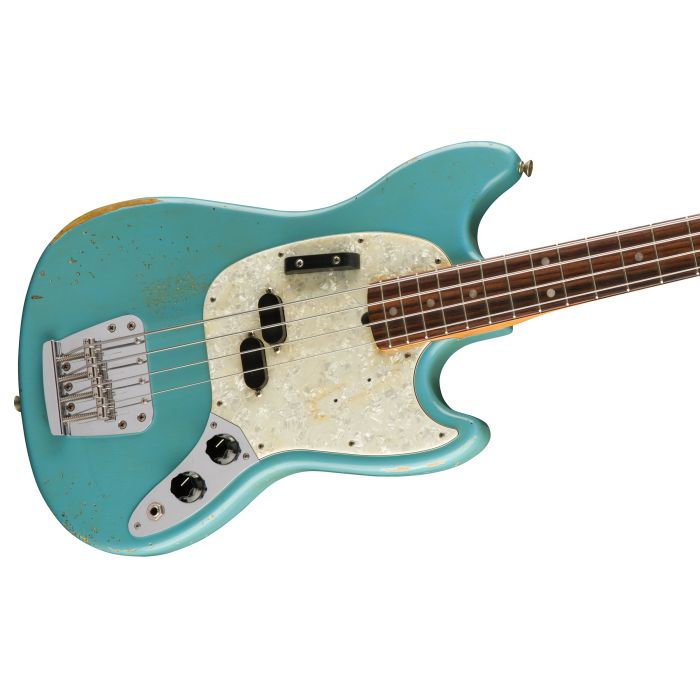 Fender Justin Meldal-Johnsen Road Worn Mustang Bass Body