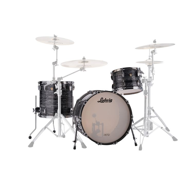 Ludwig 22 Classic Maple FAB Shell Pack