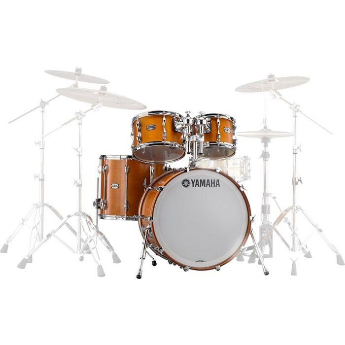 Yamaha Jazz Recording Custom Drum Shell Set Kit in Real Wood Finish