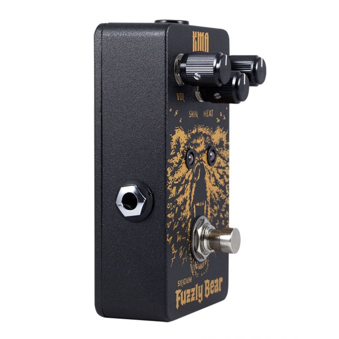 Boutique fuzz pedal for guitar or bass