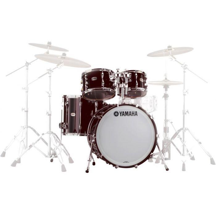 Yamaha Jazz Recording Custom Drum Shell Set Kit in Classic Walnut