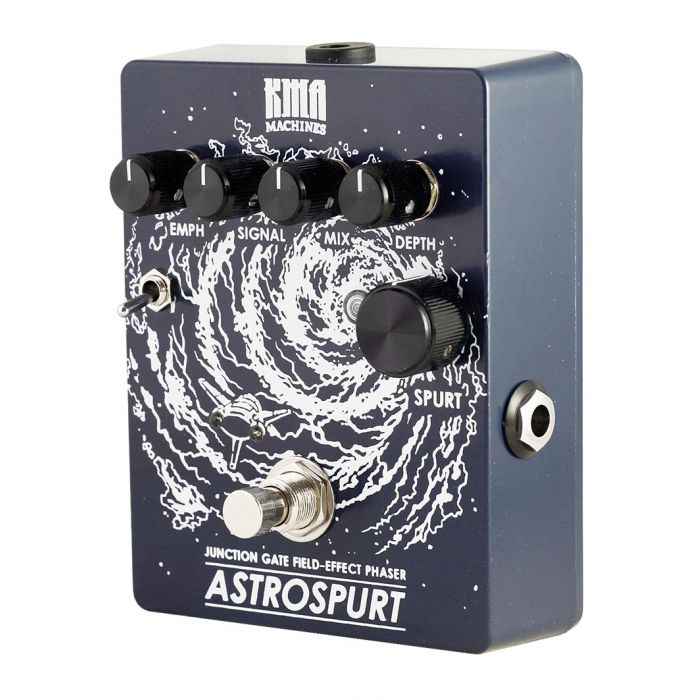 premium boutique phaser pedal for guitar and bass