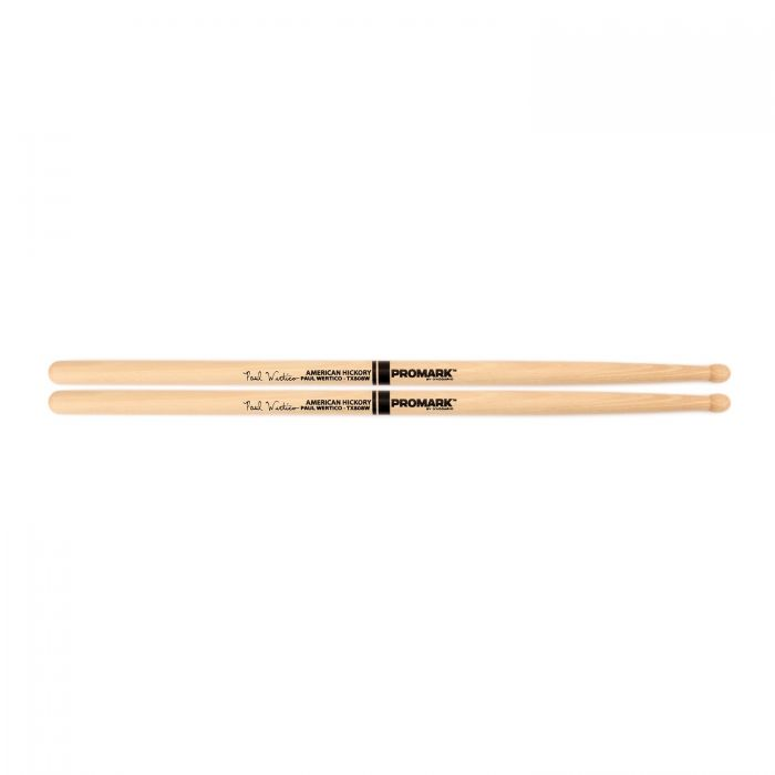 Promark Hickory 808 Wood Tip Paul Wertico Drumstick Pair