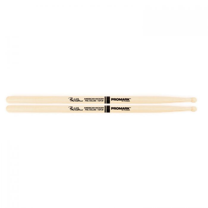 Promark Hickory PC Wood Tip Phil Collins Drumstick Pair